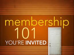 Membership 101s